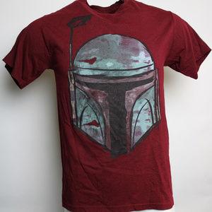 Star Wars Bobo Fett Medium Short Sleeve Tee Shirt
